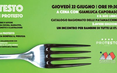Testo e Protesto. A cena con Gianluca Caporaso