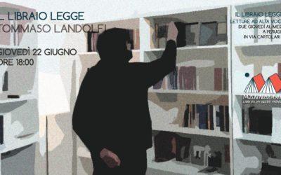 Il libraio legge Tommaso Landolfi