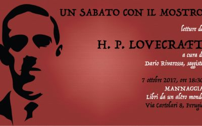 Un sabato con il mostro – Letture da H. P. Lovecraft