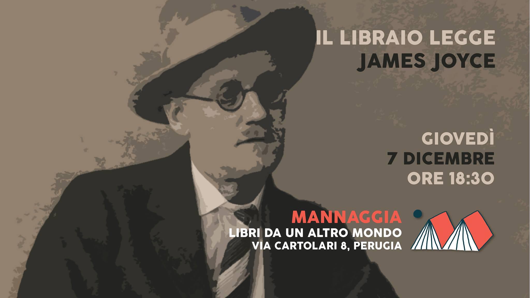 Il libraio legge James Joyce