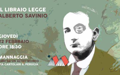 Il libraio legge Alberto Savinio