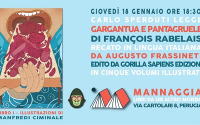 """Carlo Sperduti legge """"Gargantua e Pantagruele"""" – Libro I"""