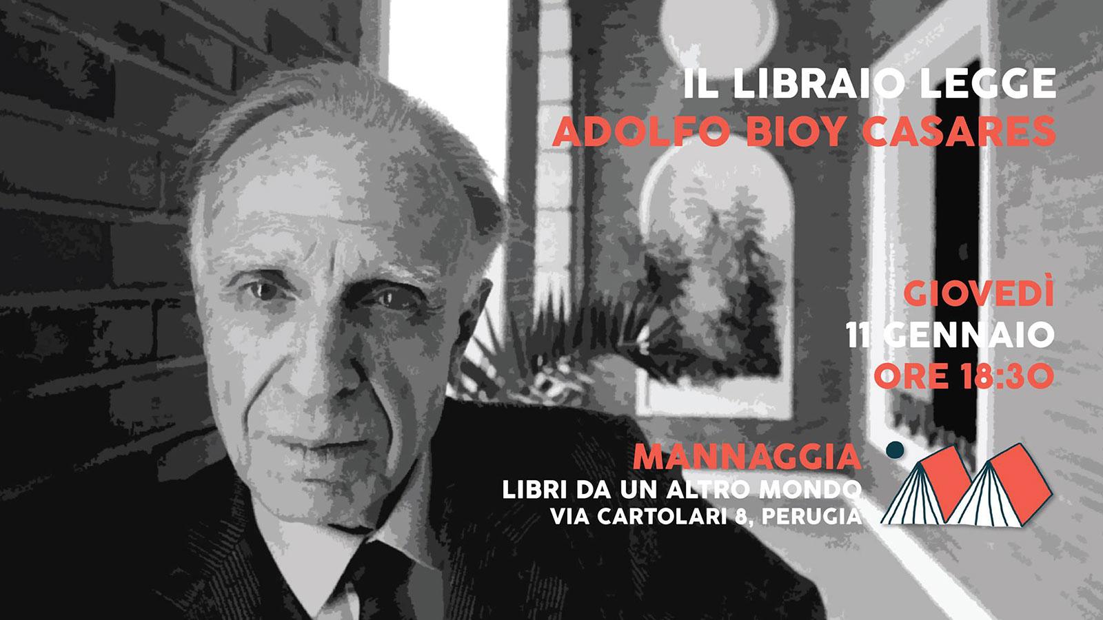 Il libraio legge Adolfo Bioy Casares