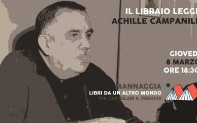 Il libraio legge Achille Campanile