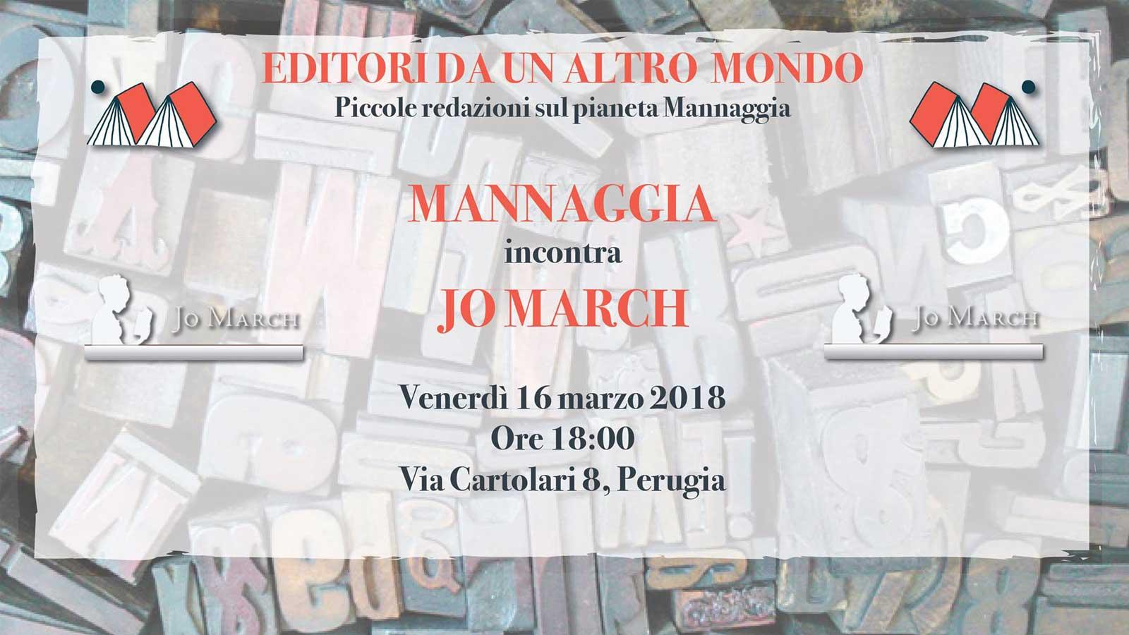 Mannaggia incontra Jo March
