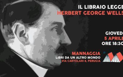 Il libraio legge Herbert George Wells