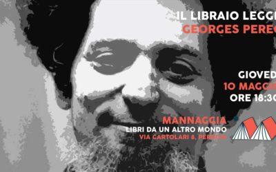 Il libraio legge Georges Perec