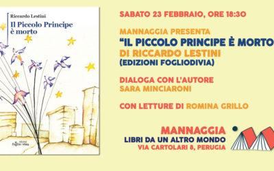"""Riccardo Lestini – """"Il piccolo principe è morto"""""""