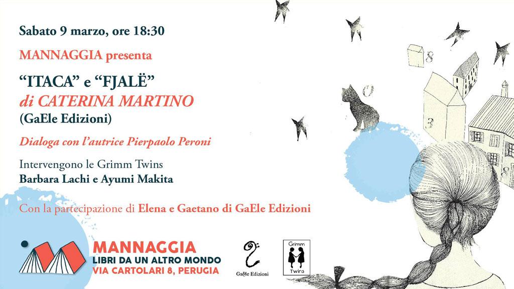 "Mannaggia presenta ""Itaca"" e ""Fjalë"" di Caterina Martino"