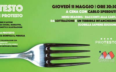 Testo e Protesto. A cena con Carlo Sperduti – Menu Reading